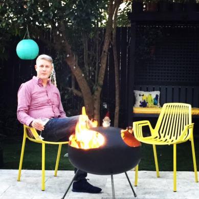 Firepod with legs, first installation Leichhardt